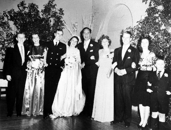 George bush sr wedding pictures